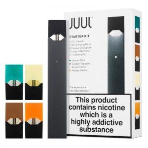 Juul Starter Kit V 3.0 com 2 pods inclusos