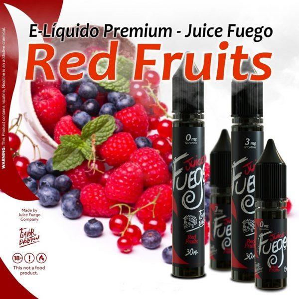 E-líquido Juice Fuego Red Fruits