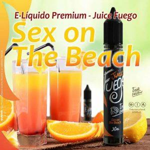 E-líquido Juice Fuego Sex on the Beach