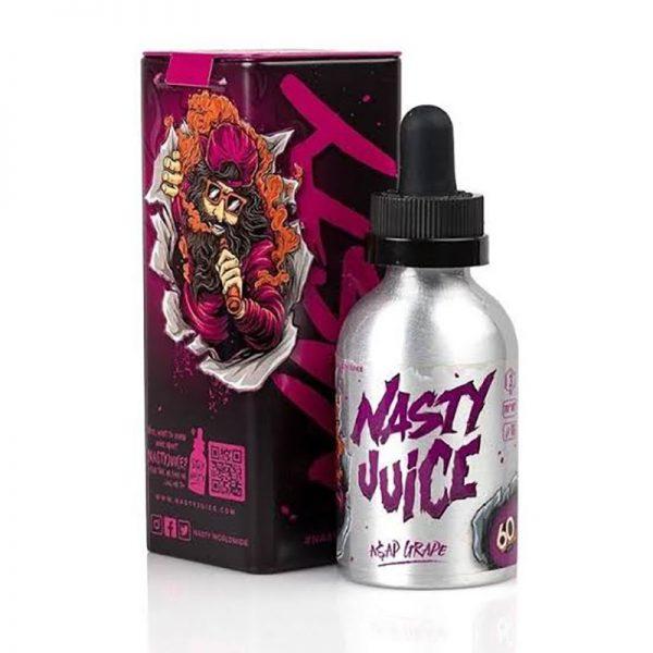E-líquido Nasty Juice Asap Grape Caixa