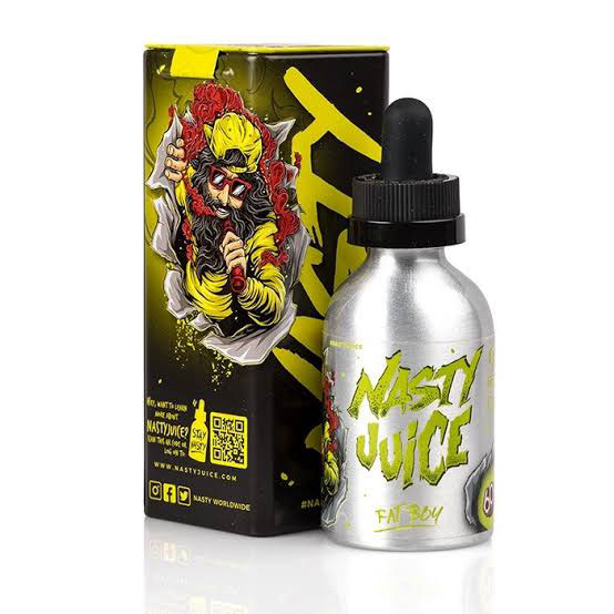 E-líquido Nasty Juice Fat Boy Caixa