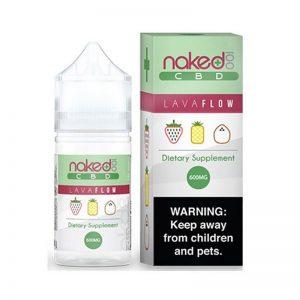 E-líquido Naked 100 CBD Lava Flow