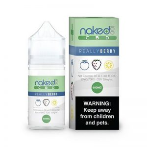 E-líquido Naked 100 CBD Really Berry