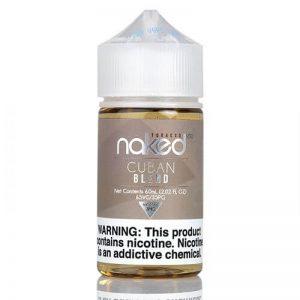 E-líquido Naked Cuban Blend