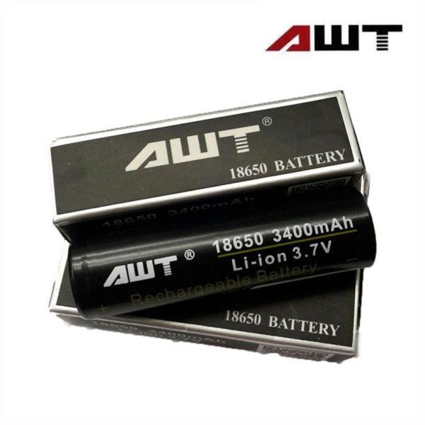 Bateria AWT Li-Ion IMR 18650 3.7V 3400mAh