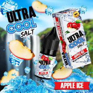 E-líquido Apple Ice Ultra Cool Salt Nic
