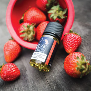 E-líquido BLVK Unicorn Salt Strawberry