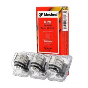 Coil/Bobina Reposição Vaporesso Qf Meshed 0.2Ohm - Pack com 3 coils