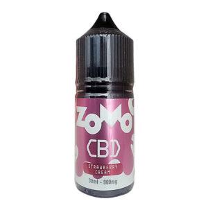 E-líquido Zomo CBD Strawberry Cream