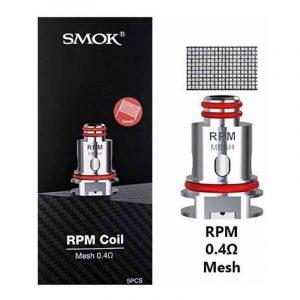 Coil/Bobina Reposição RPM 0.4ohm - Smok