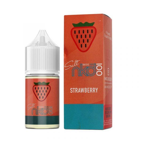 E-líquido Naked 100 Salt Strawberry Ice - Unidade