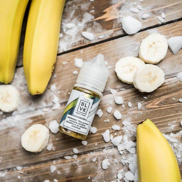 E-líquido BLVK Salt Plus Banana