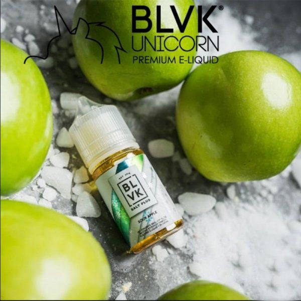 E-líquido BLVK Salt Plus Sour Apple